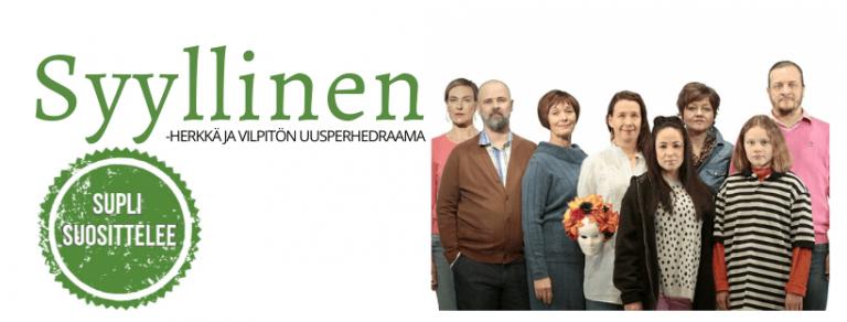 Syyllinen- näytelmä ja uusperhe-teematapahtuma Kajaanin kaupunginteatterissa 15.2.2020