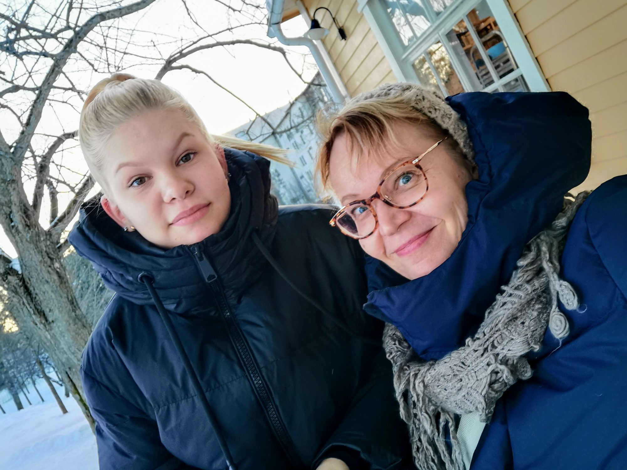 Hulda Leino ja Kirsi Heikinheimo